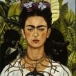 Frida Kahlo in un autoritratto