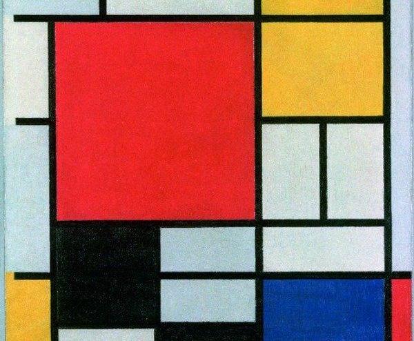 Piet Mondrian e i colori