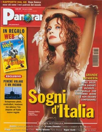 Francesca Dellera - Cover Panorama