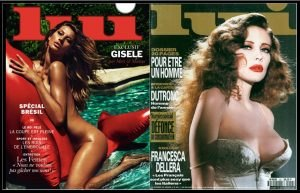 Gisele Bundchen e Francesca Dellera - Lui Magazine